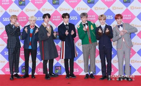 bts gayo picture media bts at 2017 sbs gayo daejun red carpet