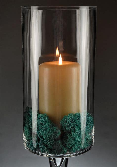 Pedestal Glass Vase by Pedestal Vase Thick Glass 24 Inch