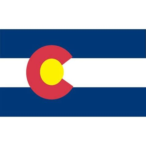 colorado ft  ft spun heavy duty polyester flag