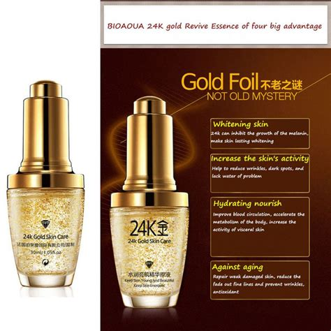 Puremed Serum Gold 24k Ecer 1 24k gold whiten moisturizing 24 k gold day hydrating 24k gold essence serum for