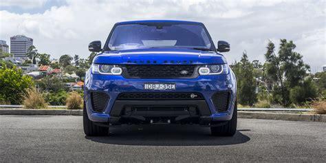 range rover svr 2016 2016 range rover sport svr review photos caradvice