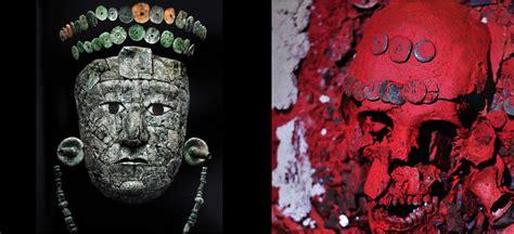 imagenes reina maya retornan a palenque restos 243 seos de la reina roja
