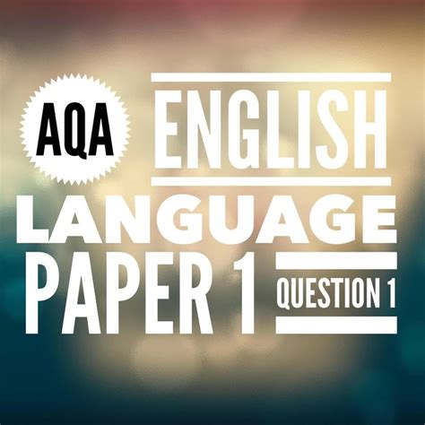 aqa gcse english language 0198340745 17 best images about aqa language paper 1 from 2017 on english language aqa and