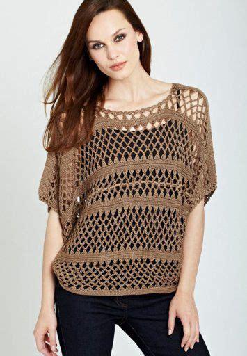 blusas de orquilla blusa tratando de tejer prendas tejidas crochet sweater crochet pinterest tejido y blusas
