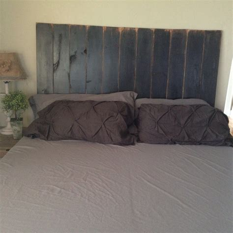 Distressed Headboard by Rustic Headboard Black Distressed