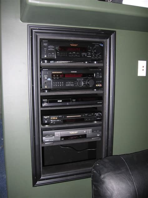 diy in wall av rack thread canadian tv computing and
