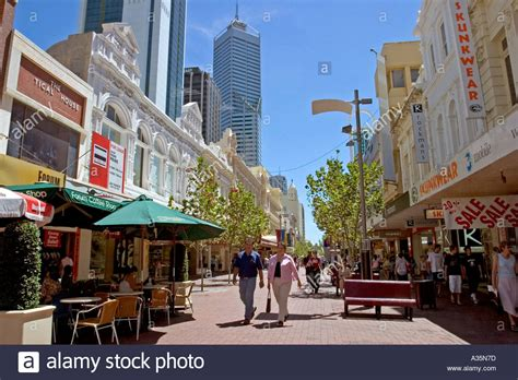 Retail Search Perth Enjoying Afternoon Shopping In Perth City Centre Western