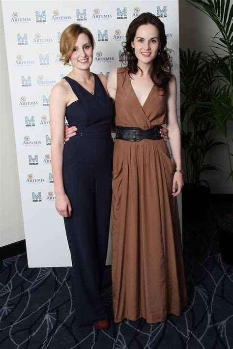 at the an evening with downton abbey event at the television academy laura carmichael in an evening with downton abbey