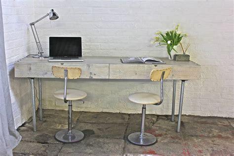 Scaffold Desk by Dorothy Reclaimed Scaffolding Industrial Desk By