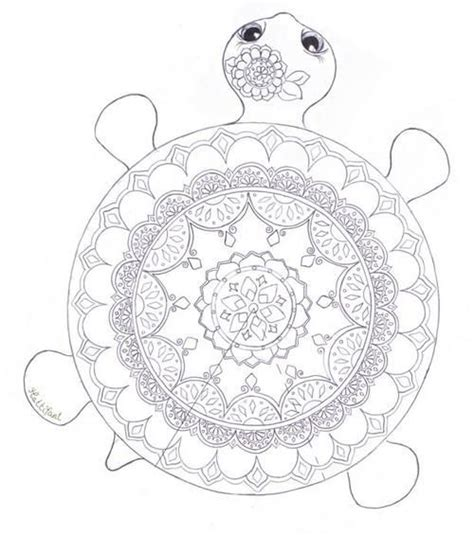 intricate turtle coloring page best 20 mandala coloring pages ideas on pinterest