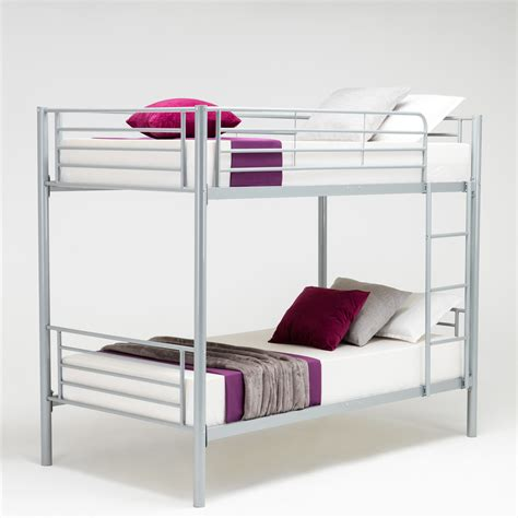 dorm bed frame twin over twin bunk metal bed frame kids adult children
