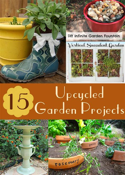 200 best images about outdoor diy projects on pinterest gardens hot tub privacy and pvc pipes 15 upcycled garden projects with links