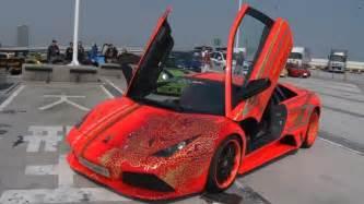 Lamborghini Million Dollar Car by Epic 10 Million Dollar Lamborghini Car Meet In Japan