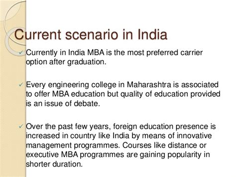 Work Experience For Mba In India by Unemployment Risk Associated With Mba