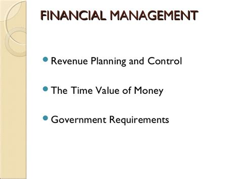 Iowa State Mba Admission Requirements by Financial Management Term Course For Non Finance