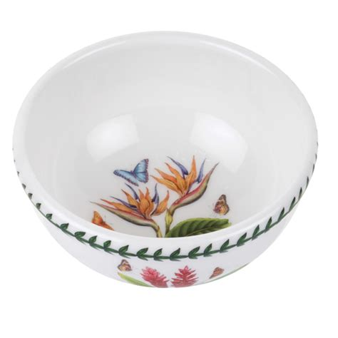 Portmeirion Botanic Garden Fruit Bowl Portmeirion Botanic Garden Individual Fruit Bowl In Bird Of Paradise 22 75 You Save 11 00