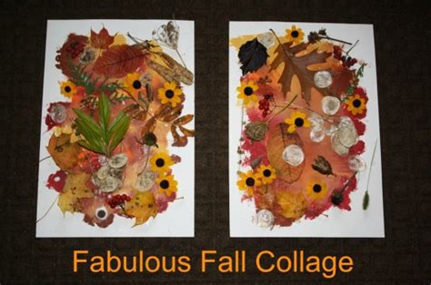 fabulous fall collage happy hooligans nature collage