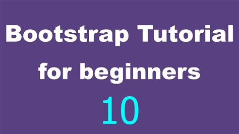 tutorial bootstrap bootstrap tutorial for beginners 3 text styles