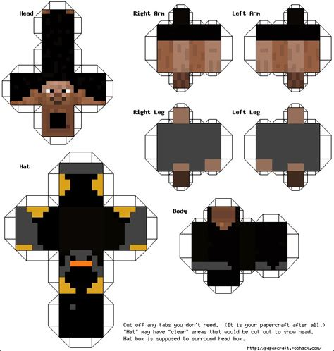 How To Make A Minecraft Person Out Of Paper - minecraft paper cutouts skins minecraft