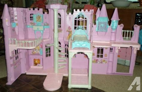 barbie princess doll house barbie princess castle doll house with sound light for sale in aransas pass texas