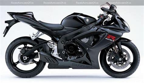 Motorrad Dekor Gsxr by Suzuki Gsx R 750 2007 Schwarze Version Dekorset