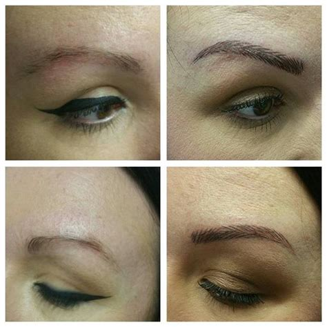 tattoo eyebrows dublin the now brows does eyebrow embroidery give fuller
