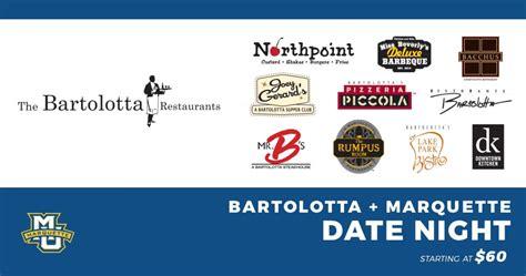 Bartolotta Gift Card - bartolottas marquette date night bartolotta s