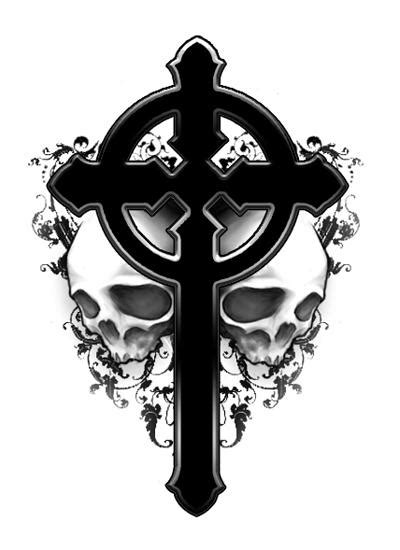 celtic skull tattoo designs cross tattoos and designs page 45