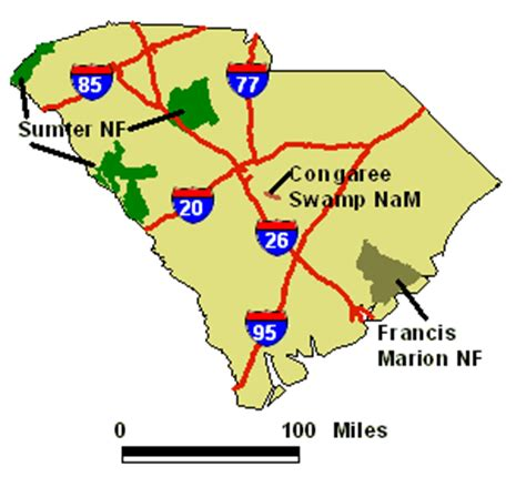map of carolina state parks south carolina national and state parks travel around usa