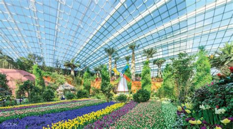 Tiket Garden By The Bay Singapore singapore flyer flight and gardens by the bay ticket in