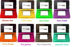3ds colors ideas for new 3ds colours by sulfura on deviantart
