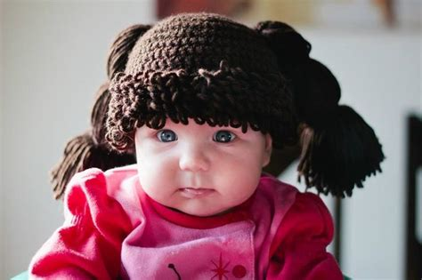 free pattern cor cabbage patch wig cabbage patch kid wig diy crochet test 233 et approuv 233