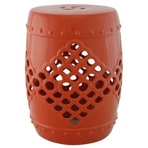 Orange Garden Stool by 335 Best Images About Ceramic Garden Stools On Gardens Drums And P Garden
