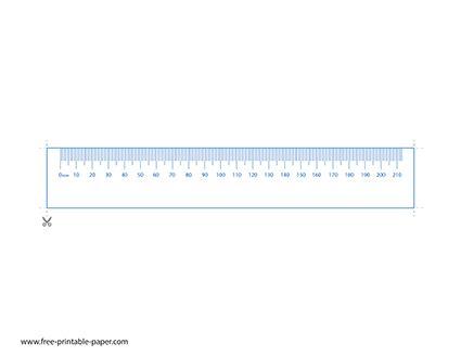 printable mm ruler metric system ruler  printable