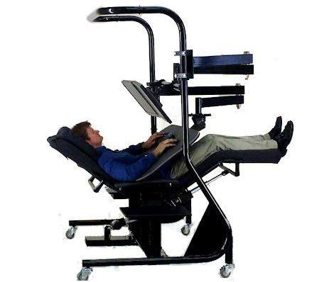 Stability Ball Chairs Zero Gravity Workstation 3