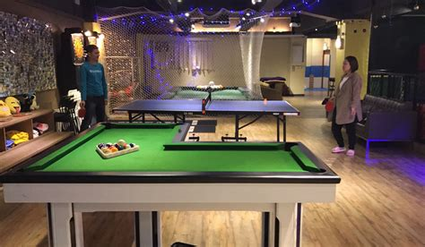 l shaped pool table five indoor rooms to get hongkongers up moving and