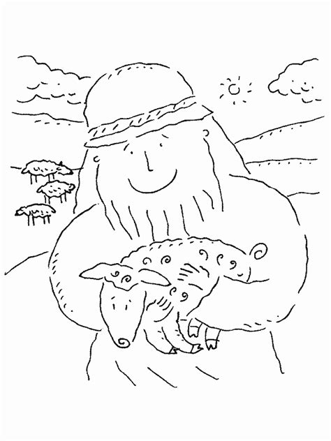 lost sheep coloring pages the parable of the lost sheep