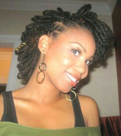 picture half afro half loc full head of locs hair and more pinterest locs