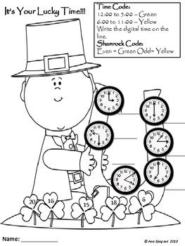 math skills coloring pages second grade st patrick s day common core math skill