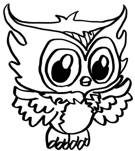 coloring page cute owl cute owl coloring pages az coloring pages