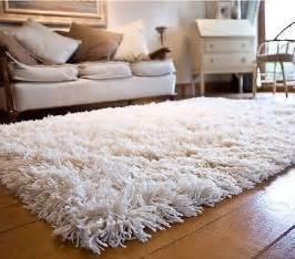 woolen shag shaggy area rug carpet 4 x 6 soft