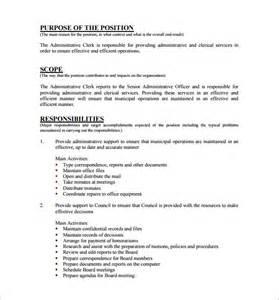 12 assistant description templates free