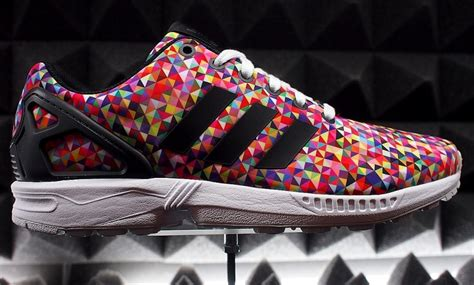 New Sepatu Running Zx Flux Multicolor adidas zx flux in multi color graphic and more sneakernews