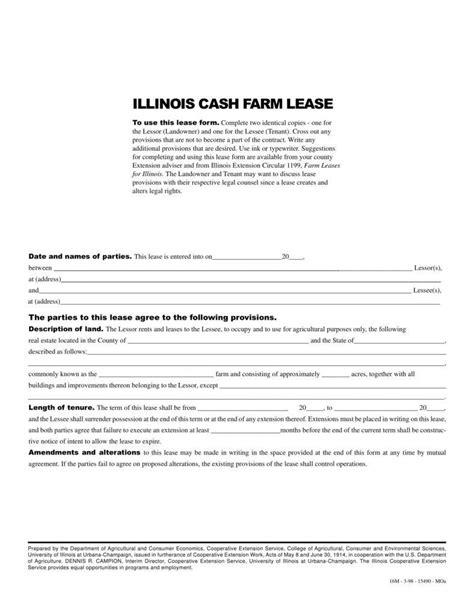 8 Farm Lease Agreement Templates Pdf Free Premium Templates Farm Lease Agreement Template Free