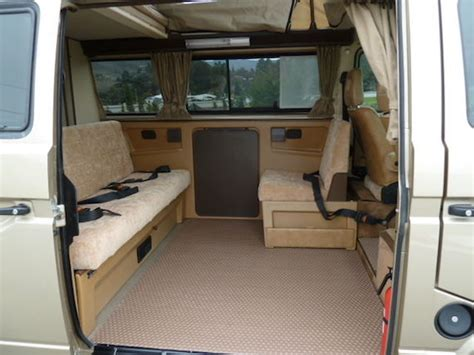 Vanagon Westfalia Interior by 1986 Volkswagen Vanagon Westfalia German Cars For Sale