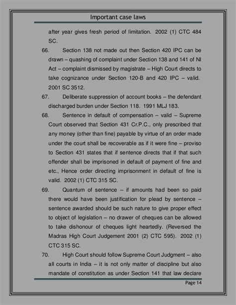 ipc section 141 useful judgment on 138