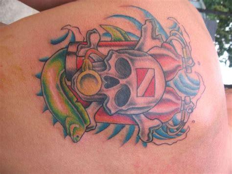 scuba tattoo designs dive scubaboard gallery ideas