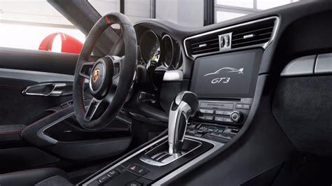 Porsche Gt3 Interior by New 2018 Porsche 911 Gt3 Exterior And Interior Images