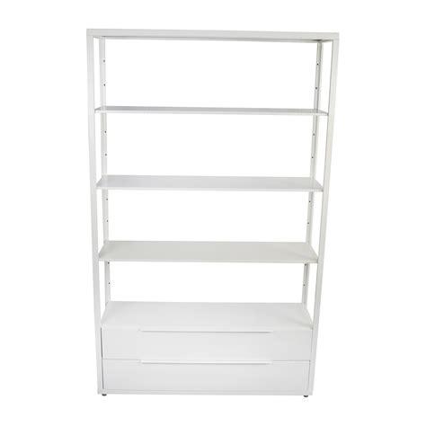 shelving unit with drawers white 90 shelf unit with drawers shelving units fjalkinge