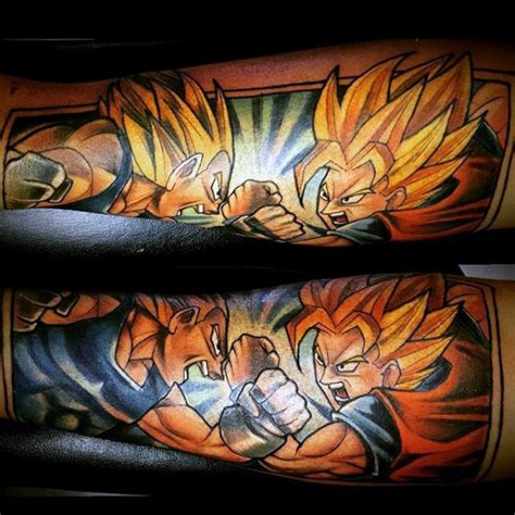 dragon ball z tattoo ideas 40 vegeta designs for z ink ideas